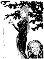 Jeanette and Ragdoll  - Jim Calafiore, Comic Art