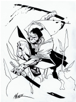 Ogami Ito in Battle, Comic Art