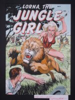 Lorna, The Jungle Girl 7 (May 1954) Comic Art