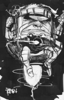 Robbi Rodriguez Modok Comic Art