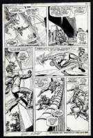 Amazing Spiderman #122 page 2 Comic Art