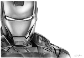 Iron Man, Comic Art