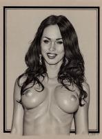Nudity Alert~~~Transformers~~~Megan Fox Nude Study~~~ Comic Art