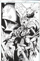 Batman #690 splash by Mark Bagley Comic Art