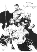Trinity by Jim Lee Comic Art