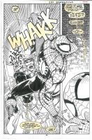 SPIDERMAN & X-FACTOR: SHADOWGAMES #2 P26 Comic Art