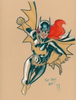 Stephane Roux Batgirl, Comic Art