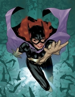 Batgirl 1 Cover Color , Comic Art