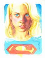 Brian Stelfreeze Supergirl, Comic Art