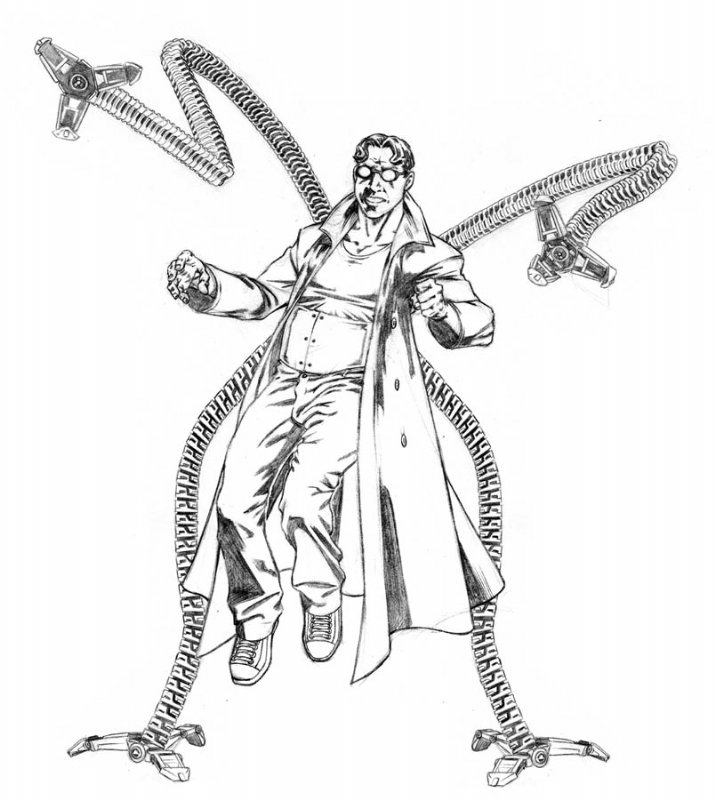 Doc Ock Coloring Pages Coloring Pages Doc Ock Coloring Pages