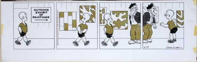 Henry 11-13-74 Comic Art