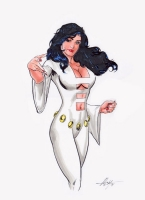 Phantom Girl (MC Wyman) Comic Art
