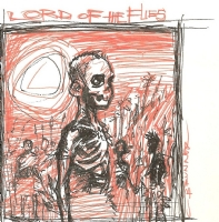 The Lord of the Flies by Chris Brunner Comic Art