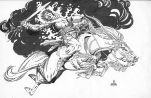 Blackmark by Gil Kane Comic Art