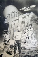 Star Trek Illustration Comic Art
