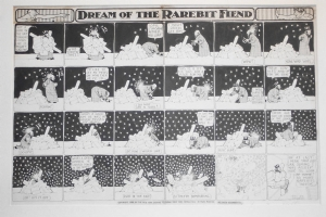 Winsor McCay Dreams of the Rarebit Fiend Comic Art