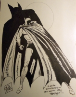 Bob Kane Batman Comic Art