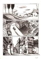 Cyril Pedrosa - Three Shadows Page, Comic Art