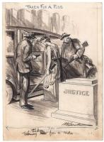 Clive Weed - 1931 Editorial Cartoon - Judge Magazine, Comic Art