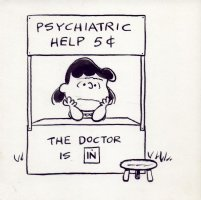 Charles Schulz  - Lucy: The Doctor is in, Comic Art