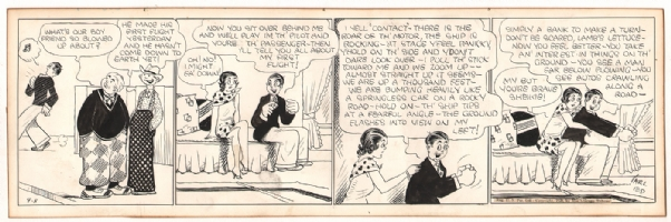 Carl Ed - Harold Teen Daily Strip - 1928, Comic Art