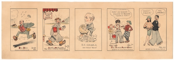 Carl Ed - A History of Carl Ed's Cartoon Work - 1920s, Comic Art
