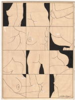Milton Glaser - 1962 Push Pin Graphic Illustration - 12 Nudes, Comic Art