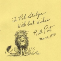 Bill Peet -- Eli the Lion, Comic Art