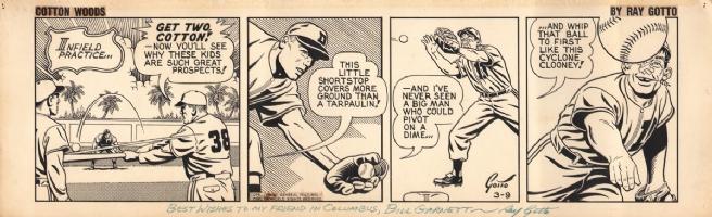 Ray Gotto - Cotton Woods - 1955 Comic Art