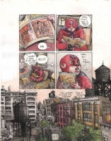 Farel Dalrymple - Wrenchies, Comic Art