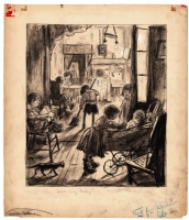 Denys Wortman - Metropolitan Movies - 1933 Depression Era, Comic Art