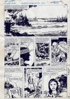 Jorge Zaffino - MacKenzie - Emboscada en el Rio 4 Comic Art