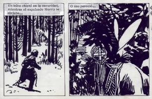 Jorge Zaffino - MacKenzie - Emboscada en el Rio 6 - Detail Comic Art