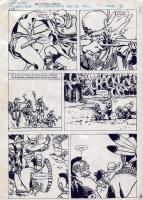 Jorge Zaffino - MacKenzie - Emboscada en el Rio 9 Comic Art