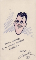 Jack Kent Self Caricature - Xmas 1940 Comic Art