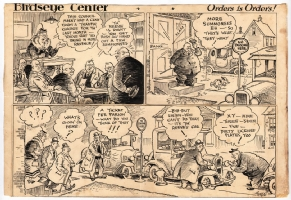 Jimmy Frise - Birdseye Center - 1920s, Comic Art