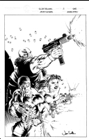 G.I. Joe Reloaded Issue 5 Cover Comic Art