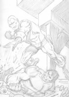Iron Man vs. The Hulk: George Tuska Comic Art