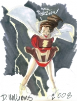 Mary Marvel : David Williams Comic Art