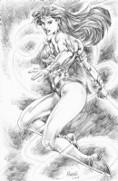 Wonder Woman : Gilbert Monsanto, Comic Art