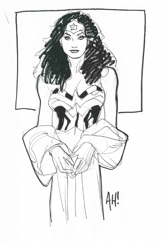 Wonder Woman : Adam Hughes Comic Art