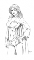 Supergirl : Mitch Foust Comic Art