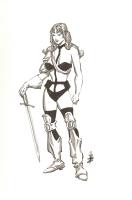 Taarna : Alex Nino Comic Art