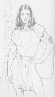 Mary Marvel: Michael McDaniel Comic Art