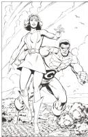 Take a Giant Step  : Val Semeiks / Al Gordon Comic Art