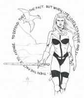 Taarna : Michael McDaniel Comic Art