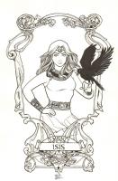 Isis : Sanya Anwar Comic Art
