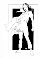 Mary Marvel : Michael Bair Comic Art