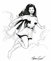 Mary Marvel : Sean Chen Comic Art