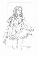 Mary Marvel : Mitch Foust Comic Art